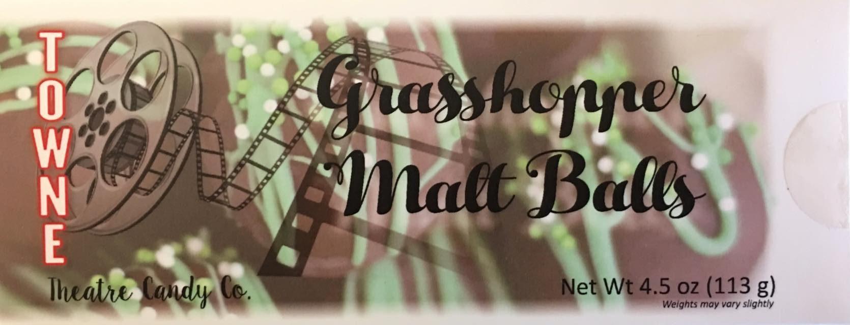 Grasshopper Malt Balls pkg