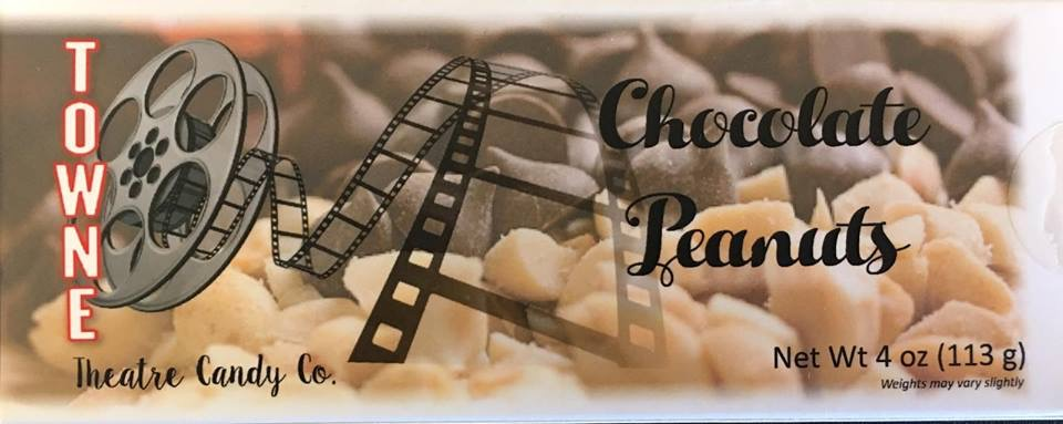 Chocolate covered peanuts pkg